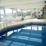 The fabulous atrium pool & jacuzzi