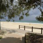 The beach at Noosa, two minutes from the Sheraton