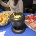excellente fondue savoyarde (attention très copieuse!!!)