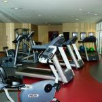 Our fitness center features modern equipment.