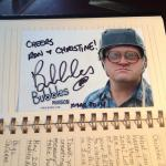 Bubbles from Trailor Park Boys stayed in the room in we stayed in