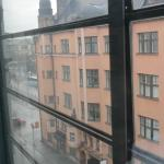 Radisson Blu Plaza Hotel, Helsinki - view from 2nd (replacement) room