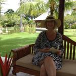 Relaxing at the Nusa Dua Beach Hotel and Spa