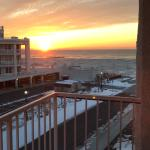 Sunrise from balcony February 28