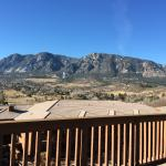 Beautiful view from the upper patio deck
