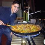 Johns paella class- great fun and tasty as #€@%!!!!!!