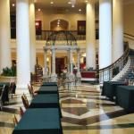 The lobby of dover downs hotel