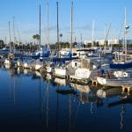 The Marina in morning sun