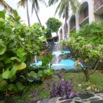 Hotel On the Cay, Waterfall & Garden
