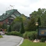 Wilderness Lodge as you arrive...