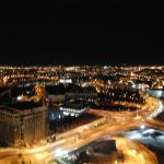 NIGHT VIEW FROM THE 19TH FLOOR OF CROWNE PLAZA
