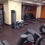 Nice gym at the LEFT side