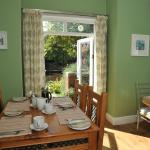 Our sunny breakfast room