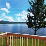 View from your cabin At Bear Tree, Pittsburg NH