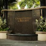 Valet entrance to the Omni