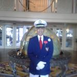 Captain at the Yacht Club