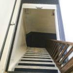 steps leading to attic rooms