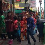 Festive Chinese New Year celebrations in Chinatown, just steps away from Hotel Triton.