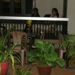 The sheltered veranda 3