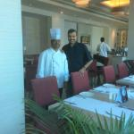 With Chef Dasharathamu