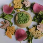 lovely composed small plate