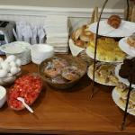 Breakfast included with stay