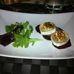 Great goat cheese starter.
