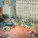 View of Pioneer Square