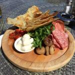 One of the nicest antipasti platters I have ever had!