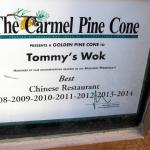 Best Chinese Restaurant for the past 7 years