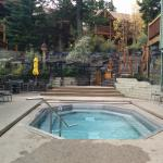 Buffalo Mountain Lodge hot tub