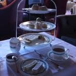 One of our cake stands from our classic afternoon tea