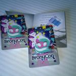 Baltimore Hilton BronyCon keycards