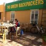 The Green Backpackers Foto