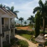 View from balcony in our room