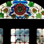 Original stained glass window from Pabst Tour