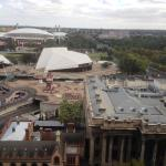 View to Adelaide Oval