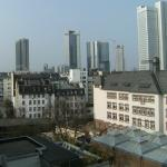 View of frankfurt from room