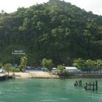 Koh Chang Island : Famous Landmark as seen from the ferry