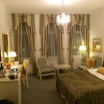 My room for a night or two...