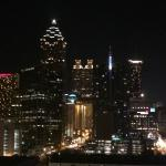 View of Downtown Atlanta from the room
