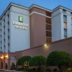 Embassy Suites at dusk
