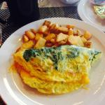 Amazing Spinach Omelet