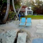 Private Beach with chairs & Dock
