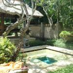 Our plunge pool and bale - <3
