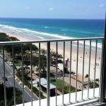 View of the beach from 10th Floor apartment