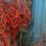 fishing nets at Rawai Beach