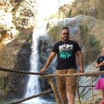 Ourika valley atlas mountain ( Marrakech) 1800 m high one of the waterfalls