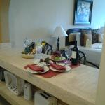 more of the Signature Villa Package, bottle of wine & appetizer