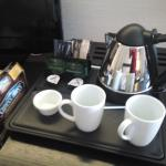 Complimentary tea and coffee